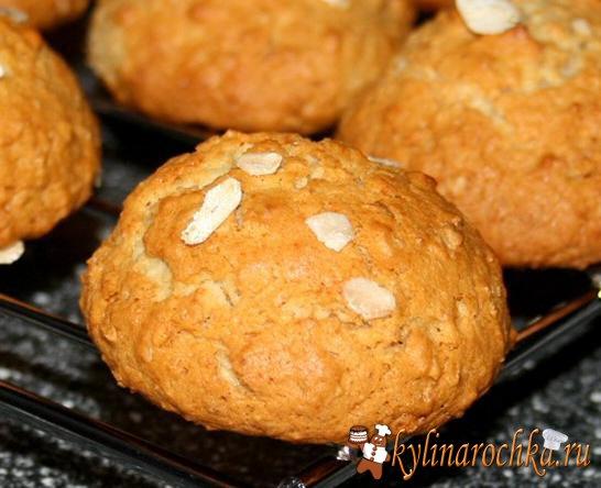 Рецепты овсяных печеньев