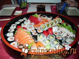"""Кадзари суши """"Японская вишня"""" – кулинарный рецепт"""