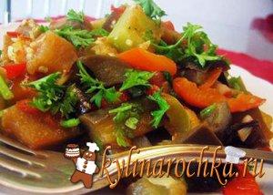 Теплая закуска из пастернака и моркови