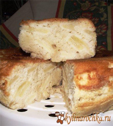 Рецепт яблочного пирога для пароварки